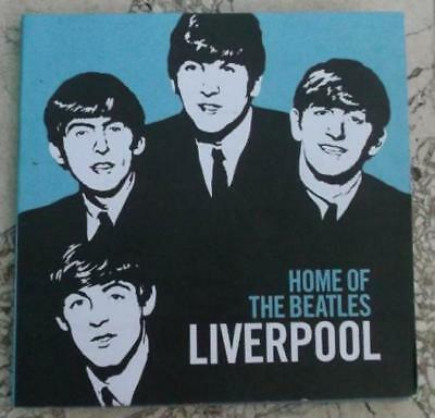 Home of The BEATLES Story Liverpool 2008 two sided Map Info Brochure Guide