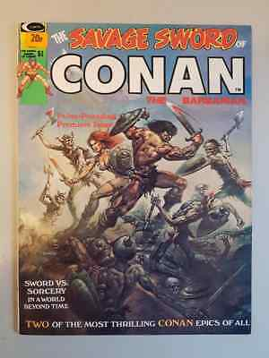 Savage Sword Of Conan The Barbarian Magazine #1 - 1974 High Grade