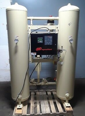 2014 Ingersoll Rand HL 600BHE0AA Heatless Desiccant Dryer System with Receiver