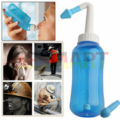 GESMART Nose Wash Bottle Nasal Cleaning Nasal Pressure Sinus Allergy Relief