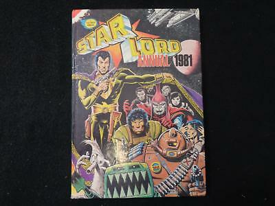 2000AD production Star Lord Annual 1981 - Strontium Dog and Ro Jaws (LOT#6030)