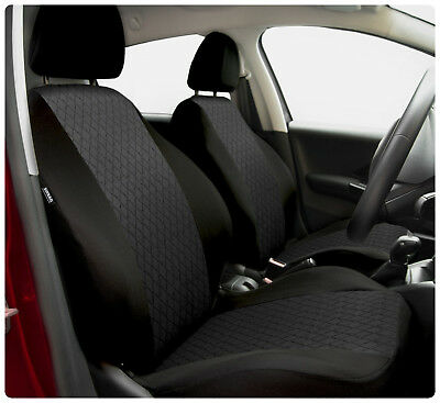 Car seat covers fit Ford Focus - full set black / grey