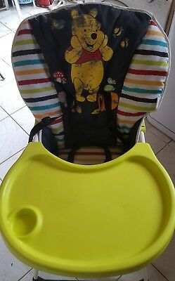 Hauck Disney Winnie the pooh tidytime Mac baby folding highchair high chair
