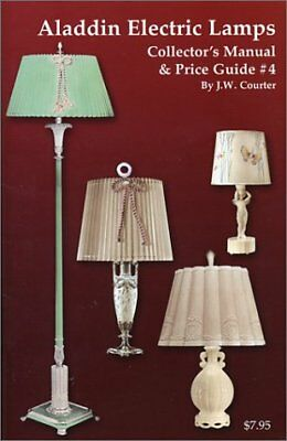 ALADDIN ELECTRIC LAMP COLLECTORS MANUAL & PRICE GUIDE #4 By J.w. Courter **NEW**