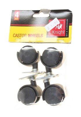 Knight Caster Wheels X 4 Pack New Genuine Uk Stock Worldwide Shipping