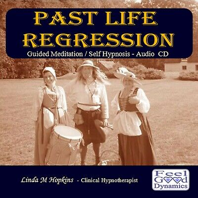 Past Life Regression Audio CD - Self Hypnosis - Guided Meditation