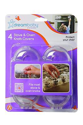 Dreambaby stove and oven knob covers 4 pack new baby safe grab a bargain UK only