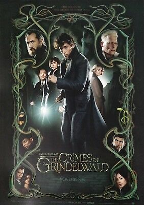 Fantastic Beasts Crimes Of Grindelwald ODEON A3 Poster Limited Edition