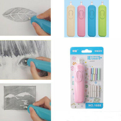 Correction Supplies Electric Eraser Children's Gift Battery Operated Rubber