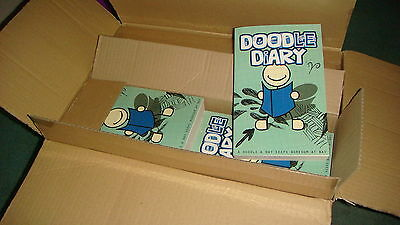 TRADE BOX OF 24 X Doodle Diary Note Book 400 Pages! - Fantastic Kid's Gift