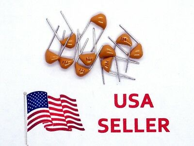 Multilayer Monolithic Ceramic Capacitor 50V 20pF-1uF (10 Pieces) USA SELLER