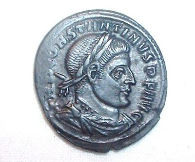 Roman - Constantine the Great AD-306 to 337 AE 19mm Follis Very Good  NO RESERVE