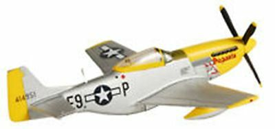 P-51 Mustang 'Pegasis'  1/100 Scale Diecast with Stand