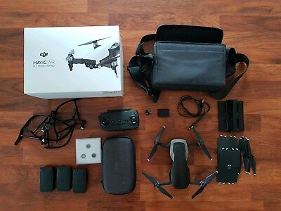 DJI Mavic Air Drone - Fly More Combo + Lens Filters
