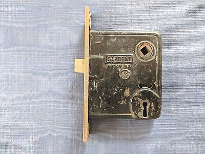 Antique Sargent & Co. Mortise Door Lock & Latch Combo Circa 1880's