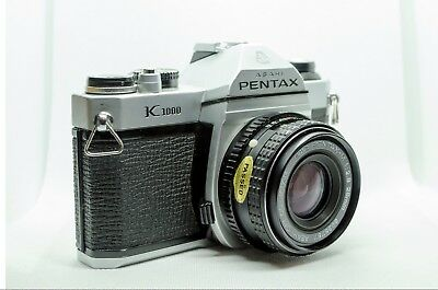 Pentax K1000 with 28mm 2.8 Lens
