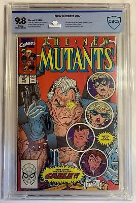 Marvel's New Mutants #87 1st Cable CBCS Certified NM/MT Graded 9.8