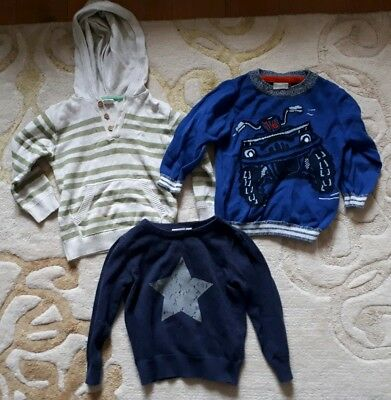 3 WINTER STRICK PULLOVER, Name it, H&M, Gr. 86/92