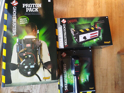 New Ghostbusters Spirit Halloween Light Up Proton Pack Ghost Trap Pke
