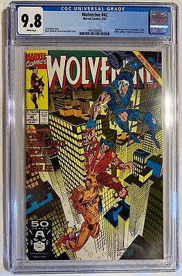Marvel's Wolverine #42 CGC Certified NM/MT Graded 9.8