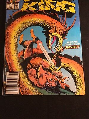 Marvel Comic, Conan the King #55 Final Issue 1989