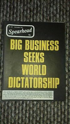 spearhead magazine no 48 dec 1971 john tyndall bnp nf good condition for age