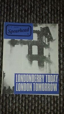 spearhead magazine no 51 april 1972 john tyndall bnp nf good condition for age