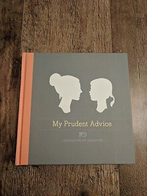 My Prudent Advise Lessons For My Daughter keepsake book