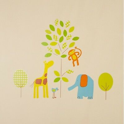 Wall Stickers Jolly Jungle The Gro Company Childrens Wall Stickers Decoration