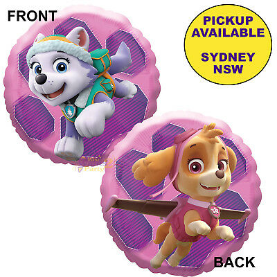 SKYE PAW PATROL Pink Badge Logo Tag Tv Show Helicopter Pilot