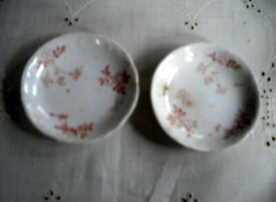 Vintage T&R Boote Royal Semi-Porcelain Waterloo Potteries England Butter Pats