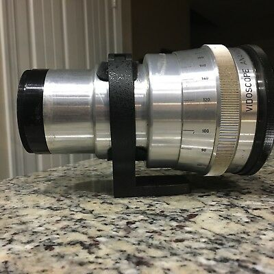 Anamorphic Lens Vidoscope + Tripod Adapter Included / PROJECTOR LENS