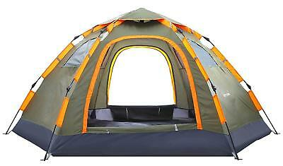Blanmour Pop up Camping Tent Portable 6 Person Family Tent Waterproof Double Doo