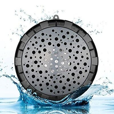 Splashproof Shower Speaker Outdoor Wireless Portable Waterproof IPX6 Bluetooth