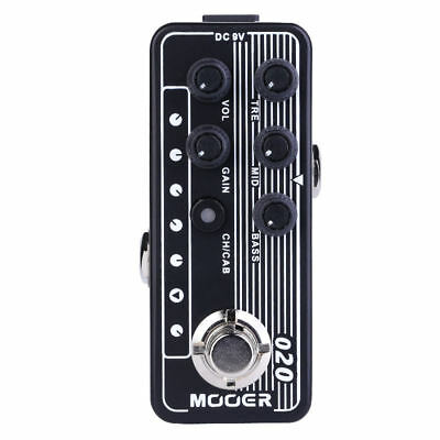 Mooer   Micro Preamp   020 BLUENO NEW! Release In Stock NOW
