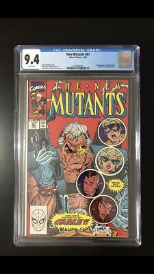 The New Mutants #87 First Appearance Of Cable CGC 9.4 (Mar 1990, Marvel)