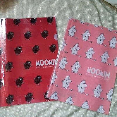 MOOMIN VALLEY Moomintroll Stinky A4 Plastic Folder 2 Pieces Set