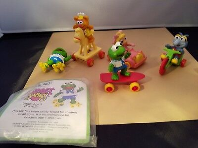 Vintage 1991 McDonalds Lot Of Super Looney Tunes Baby Muppets