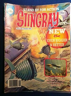 Stingray the Comic Issue 1 Volume 2 Gerry Anderson