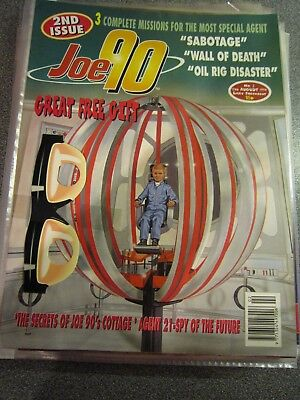 Joe 90 the Comic Issue 2 with free gift Gerry Anderson