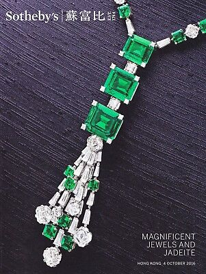 MAGNIFICENT JEWELS & JADE:  Sotheby's Top-Katalog HK 16 +results