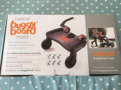 Maxi Lascal Buggy Board- in box- EXCELLENT condition- used once