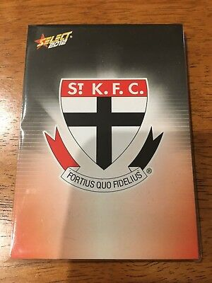 2012 Afl Select Champions St Kilda Saints Common Team Set All 12 Cards