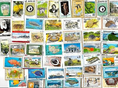 MAURITIUS - Kiloware / Stamps on Paper - Approx 15 grams
