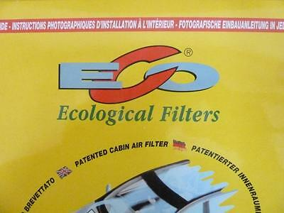 ECO 419 Innenraumfilter Pollenfilter Filter Peugeot 405
