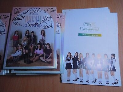 Dream Note - Dreamlike (1st Single  Promo) with Autographed (Signed)