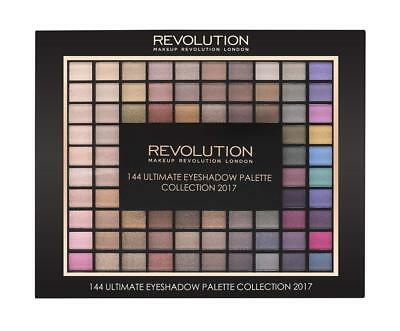 Makeup Revolution London 144 Ultimate eyeshadow palette Collection 2017 (New)