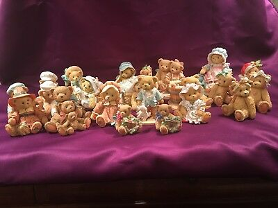 Lot Of 22 CHERISHED TEDDIES 1991-1993 (no Boxes) VERY GOOD CONDITION