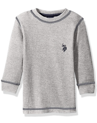 U.S. Polo Assn. Boys' Thermal Long Sleeve Shirt
