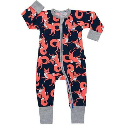 BONDS Zip Wondersuit Fox Character NEW 3-6, 6-12 months Unisex